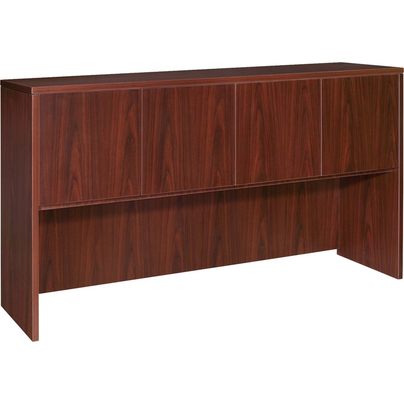 Lorell Essentials Hutch with Doors