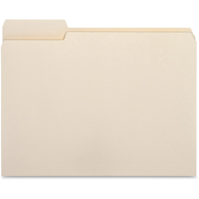 Business Source Top Tab File Folder