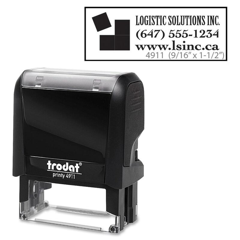 Trodat Climate Neutral 4911 Self-inking Stamp