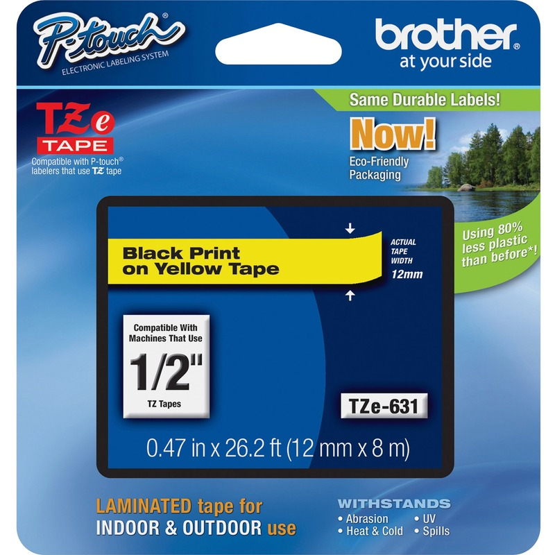 Brother P-touch TZE631 Label Tape