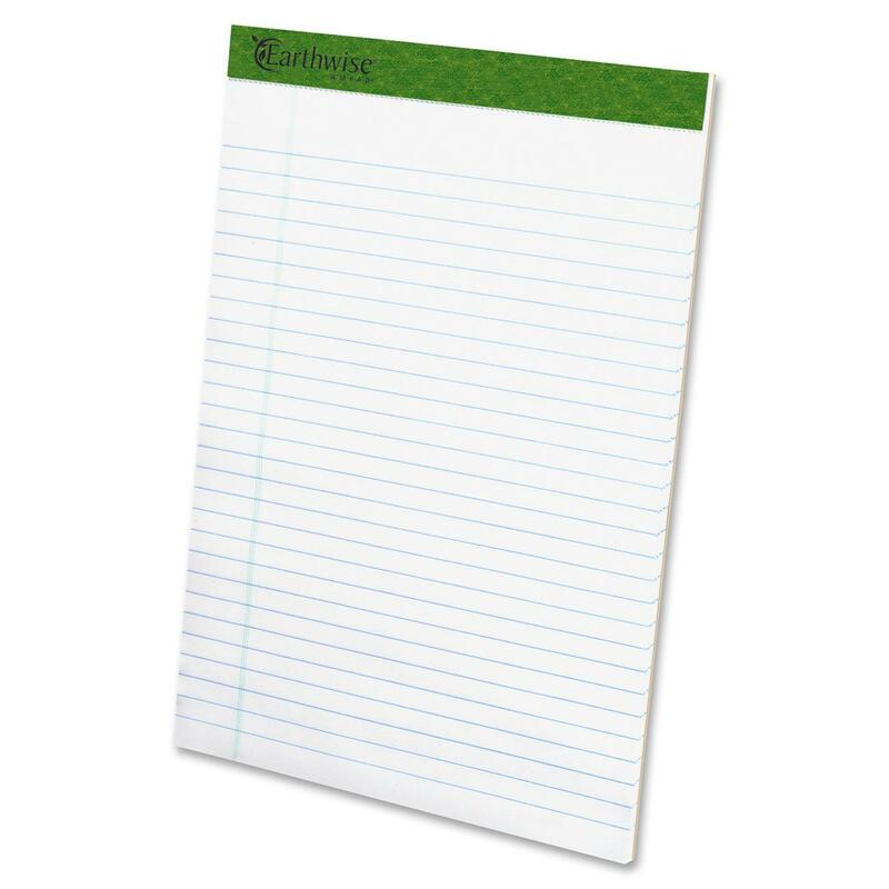 Ampad Recycled Perforated Legal Rule Pads