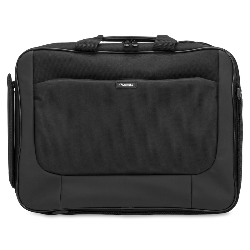 """Lorell Carrying Case (Briefcase) for 16"""" Notebook - Black"""