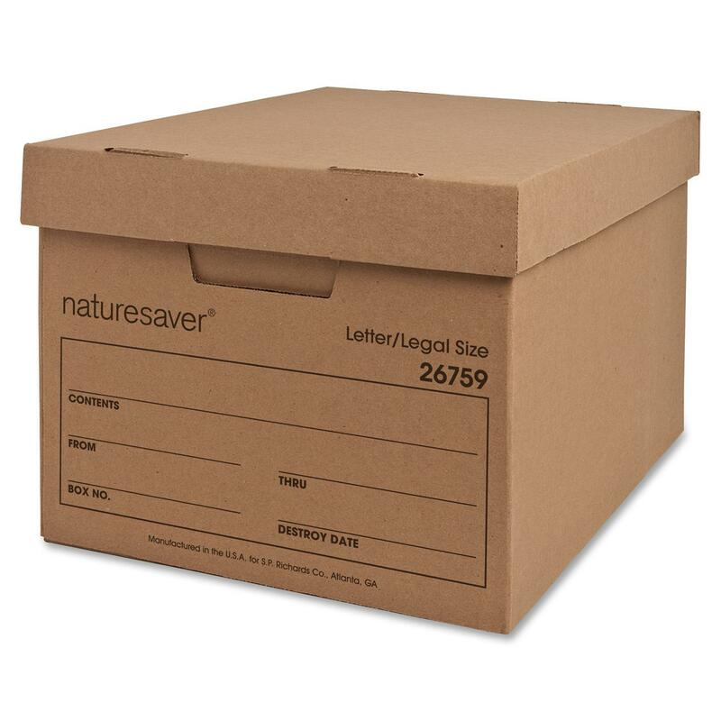 Nature Saver Recycled Storage Box