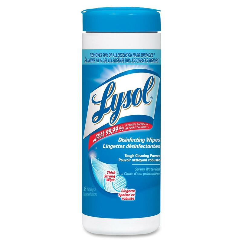 Lysol Disinfectant Wipes - Spring Scent - 35/Pack