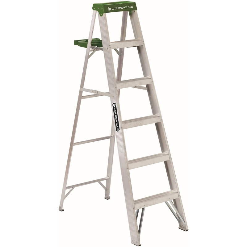 Louisville 6' Aluminum Step Ladder