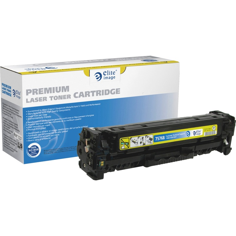 Elite Image Remanufactured Toner Cartridge Alternative For Canon 118 Yellow