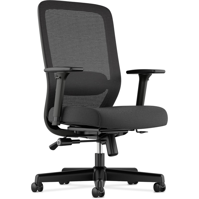 Basyx by HON Fabric Seat Mesh High-Back Chair