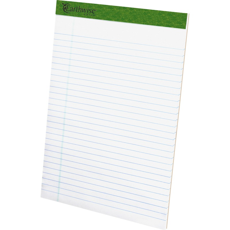 TOPS Recycled Perforated Pads