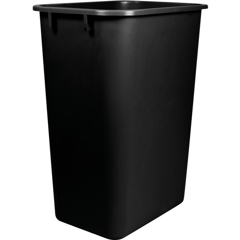 Storex Washable 41qt Plastic Waste Basket