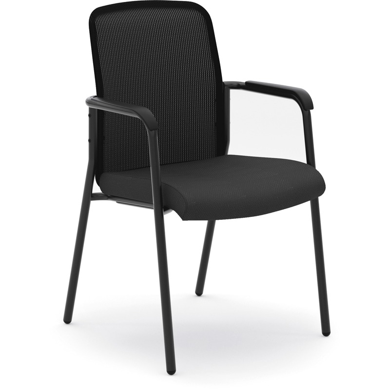 Basyx by HON HVL518 Mesh Back Stacking Chair