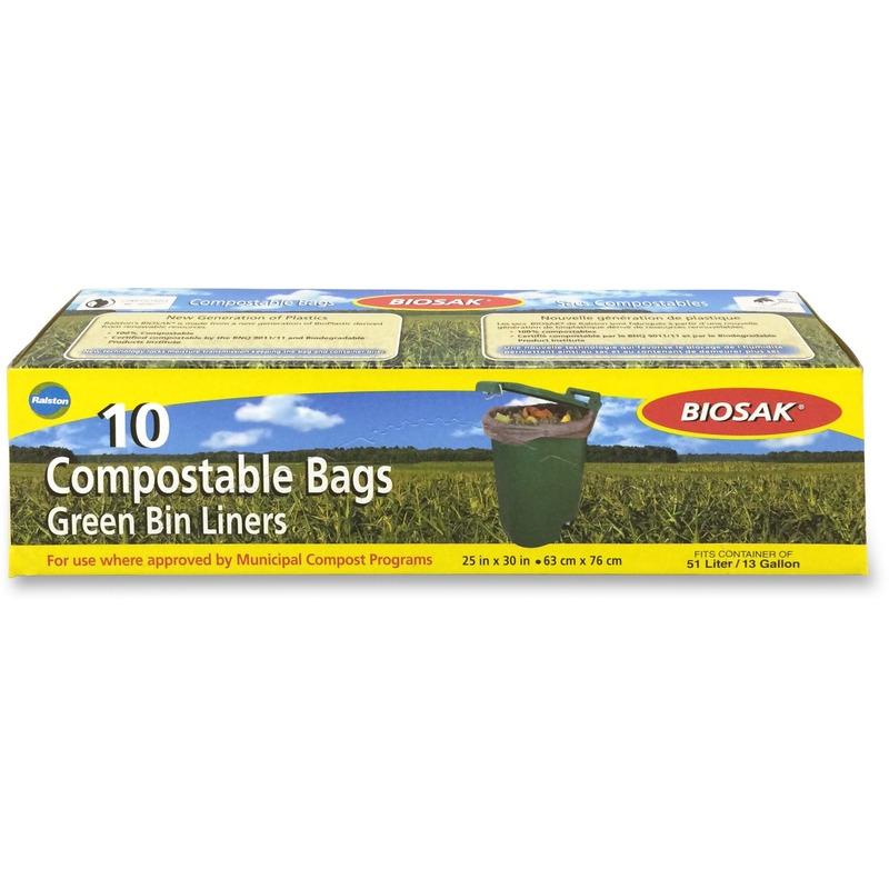 Biosak Compostable Bags & Film