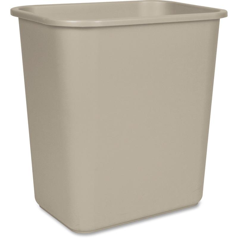 Storex Washable Plastic Waste Basket