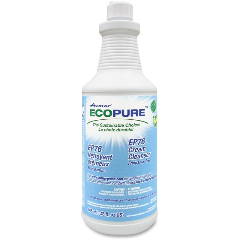 Unisource Ecopure 946ml Cream Cleanser (12/Cs)