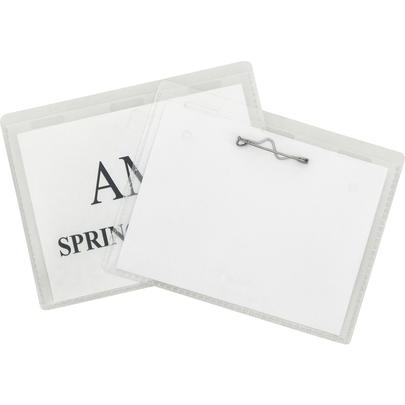 C-Line Pin Style Name Badge Holder Kit