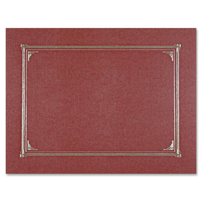 Geographics Linen Certificate Cover