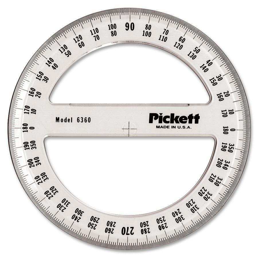 Chartpak Full Circle Protractor - Madill - The Office Company