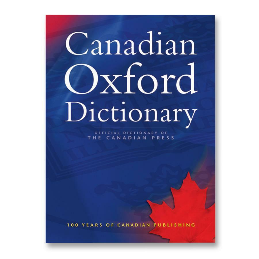 students oxford canadian dictionary