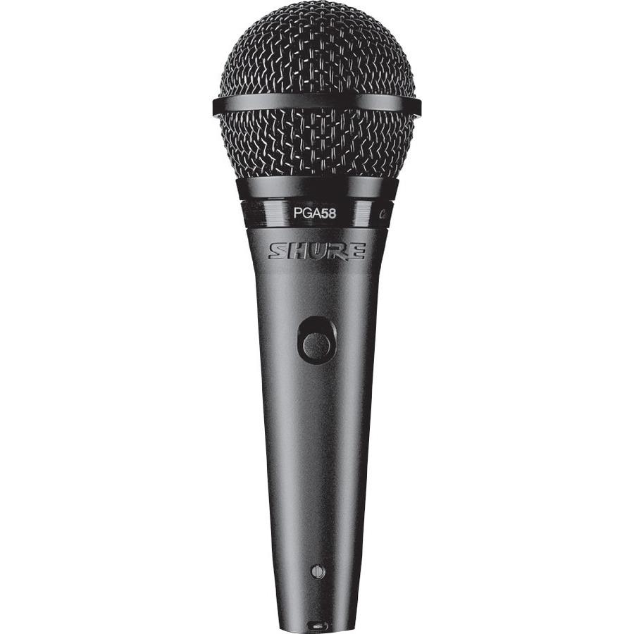 Shure PG ALTA PGA58 Wired Dynamic Microphone - Black Metallic_subImage_1