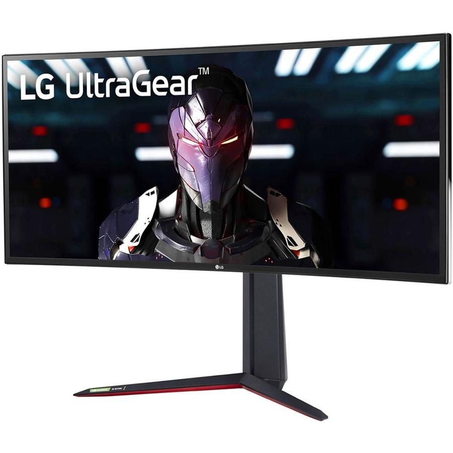"LG UltraGear 34GN85B-B 34"" UW-QHD Curved Screen Gaming LCD Monitor - 21:9 - Matte Black_subImage_1"
