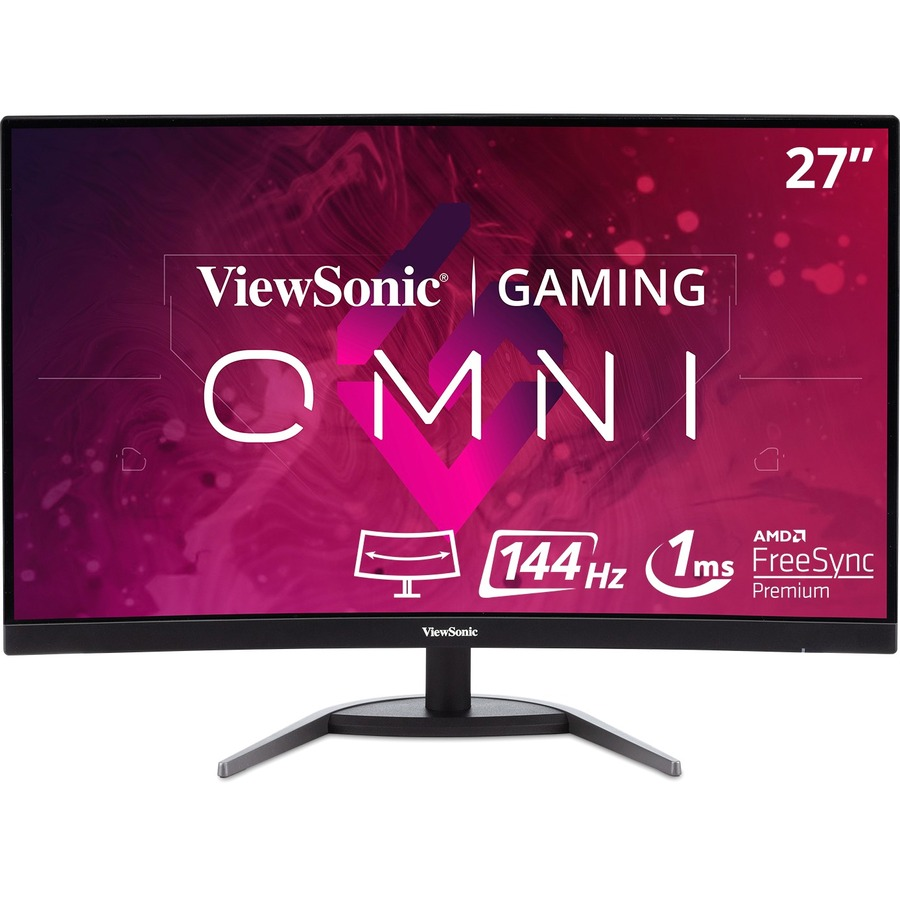 "Viewsonic VX2768-2KPC-MHD 27"" WQHD Curved Screen LED Gaming LCD Monitor - 16:9_subImage_1"