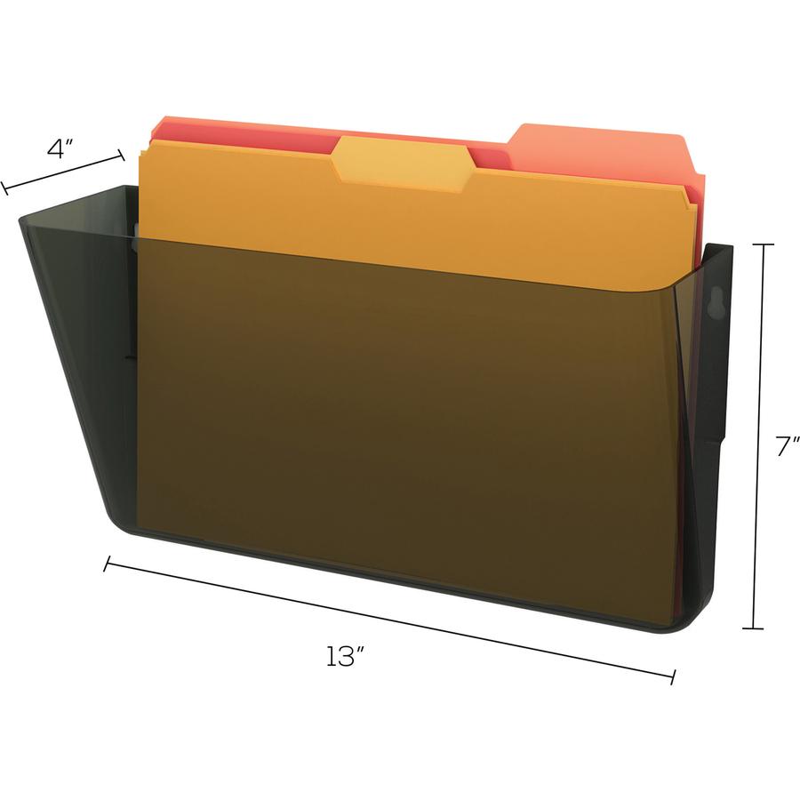 Deflect-o Stackable Wall Pocket