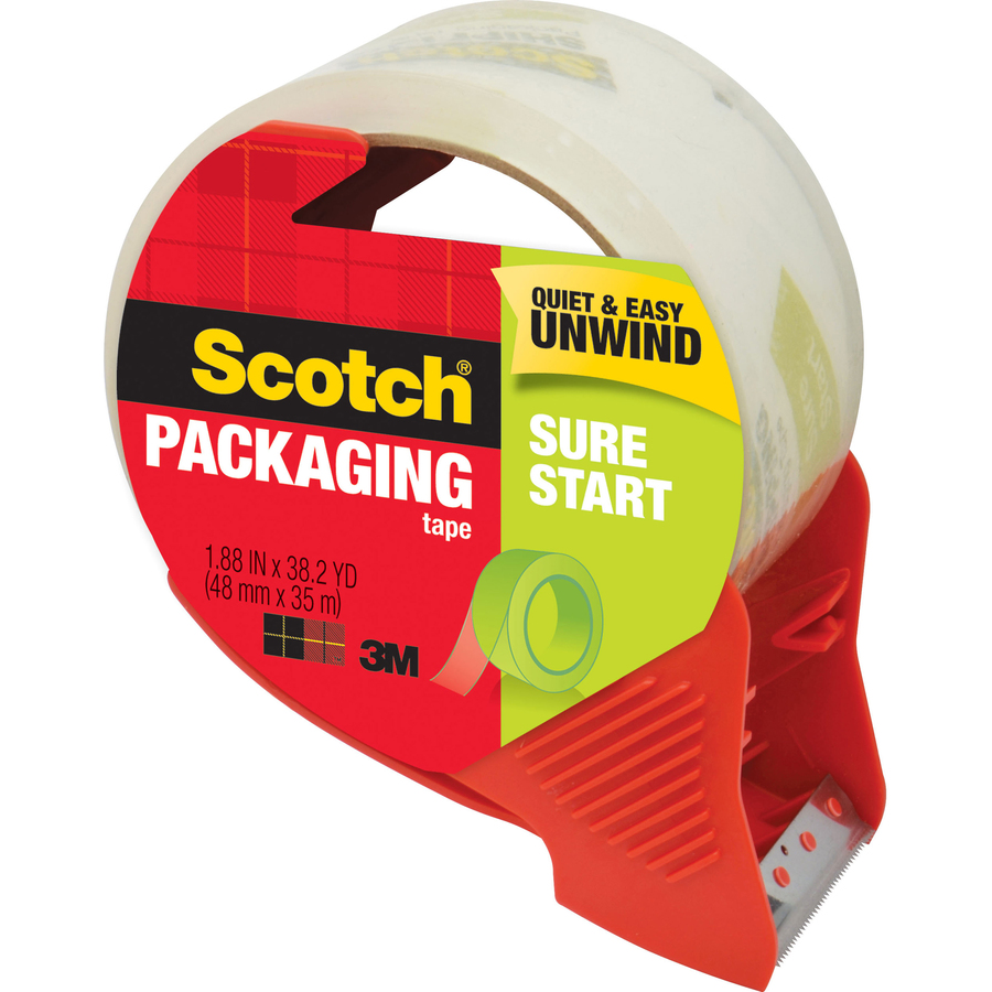 Scotch Sure Start Easy Unwind Packaging Tape