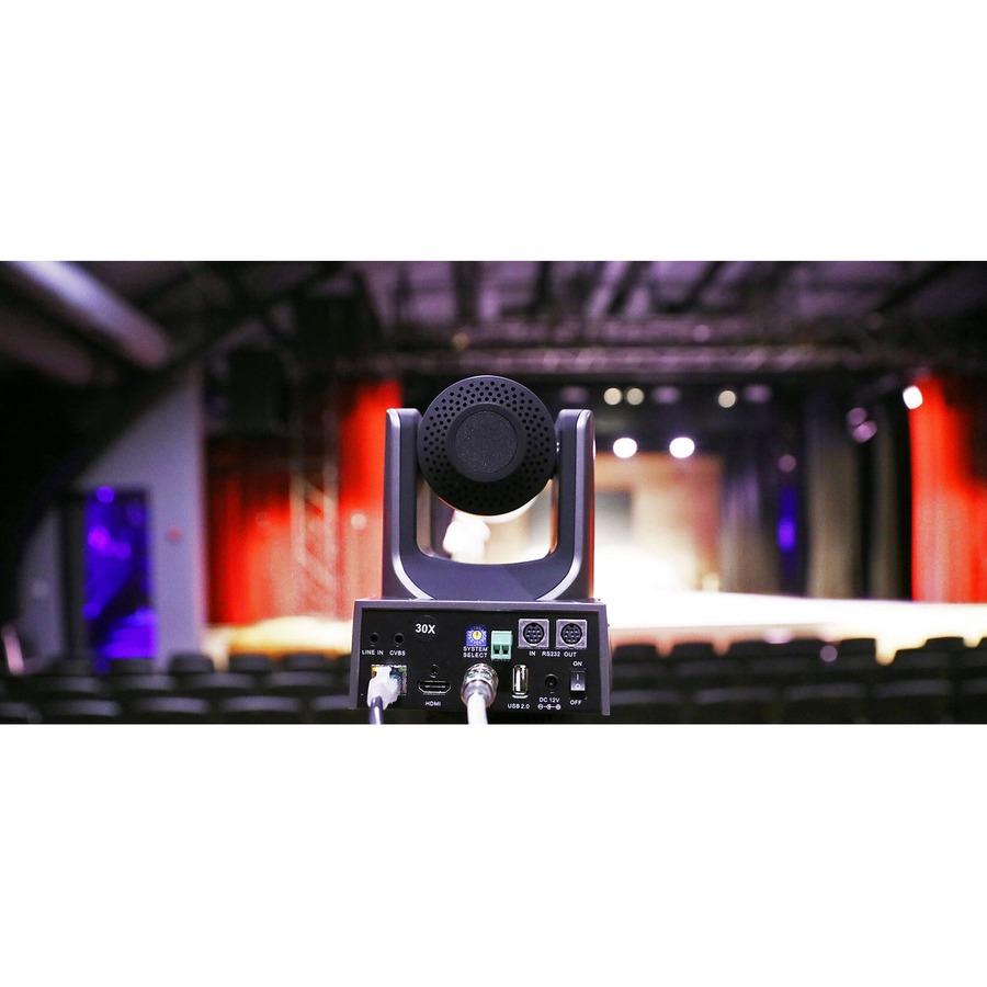 PTZOptics PT20X-SDI-GY-G2 Video Conferencing Camera - 2.1 Megapixel - 60 fps - Gray - USB 2.0_subImage_5