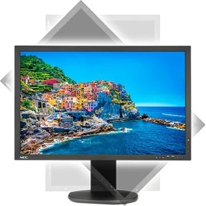 "NEC Display MultiSync PA243W-BK 24.1"" WUXGA WLED LCD Monitor - 16:10 - Black_subImage_5"