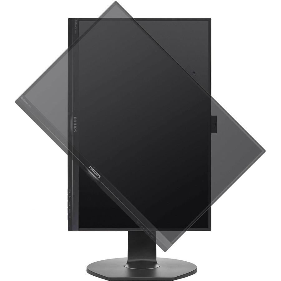 "Philips Brilliance 241B7QPJKEB 23.8"" Full HD LED LCD Monitor - 16:9 - Textured Black_subImage_3"