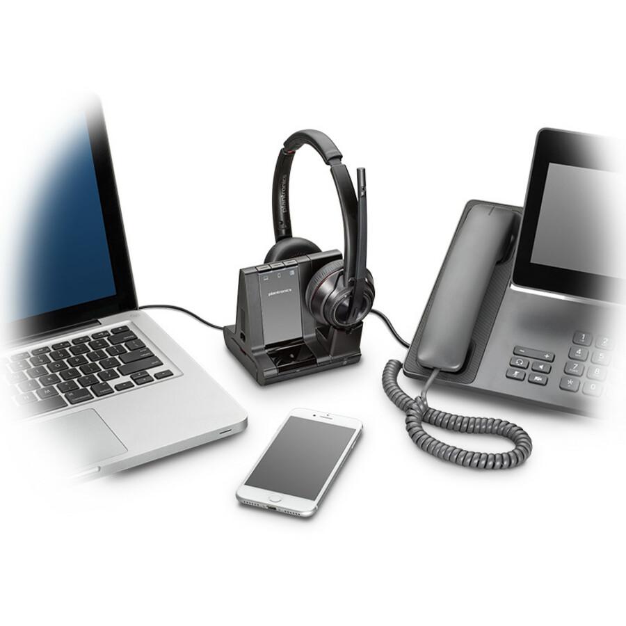 Plantronics Savi 8200 Series Wireless Dect Headset System_subImage_3