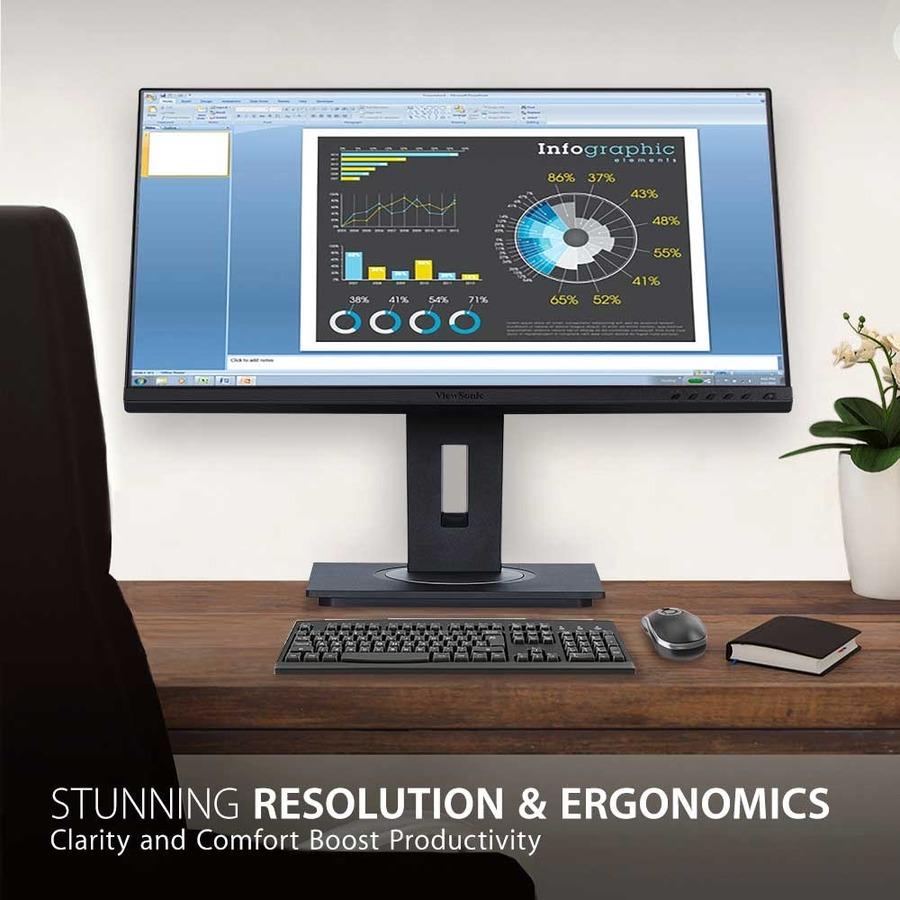 "Viewsonic VG2755 27"" Full HD WLED LCD Monitor - 16:9 - Black_subImage_6"