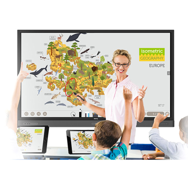"BenQ Education RP7501K 75"" LCD Touchscreen Monitor - 16:9 - 8 ms_subImage_7"