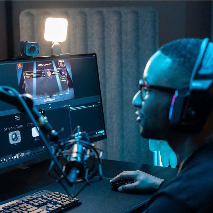 Logitech Webcam - 2.1 Megapixel - 60 fps - Graphite - USB_subImage_4
