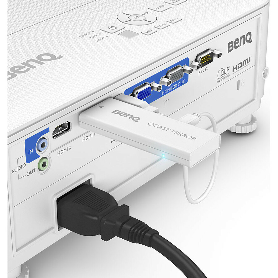 BenQ TH585 3D DLP Projector - 16:9 - White_subImage_8