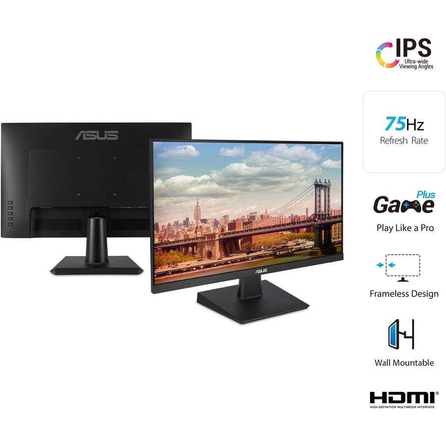 "Asus VA24EHE 23.8"" Full HD WLED Gaming LCD Monitor - 16:9 - Black_subImage_5"