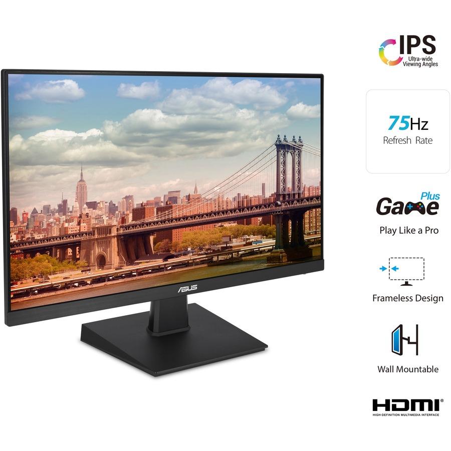 "Asus VA27EHE 27"" Full HD WLED Gaming LCD Monitor - 16:9 - Black_subImage_5"