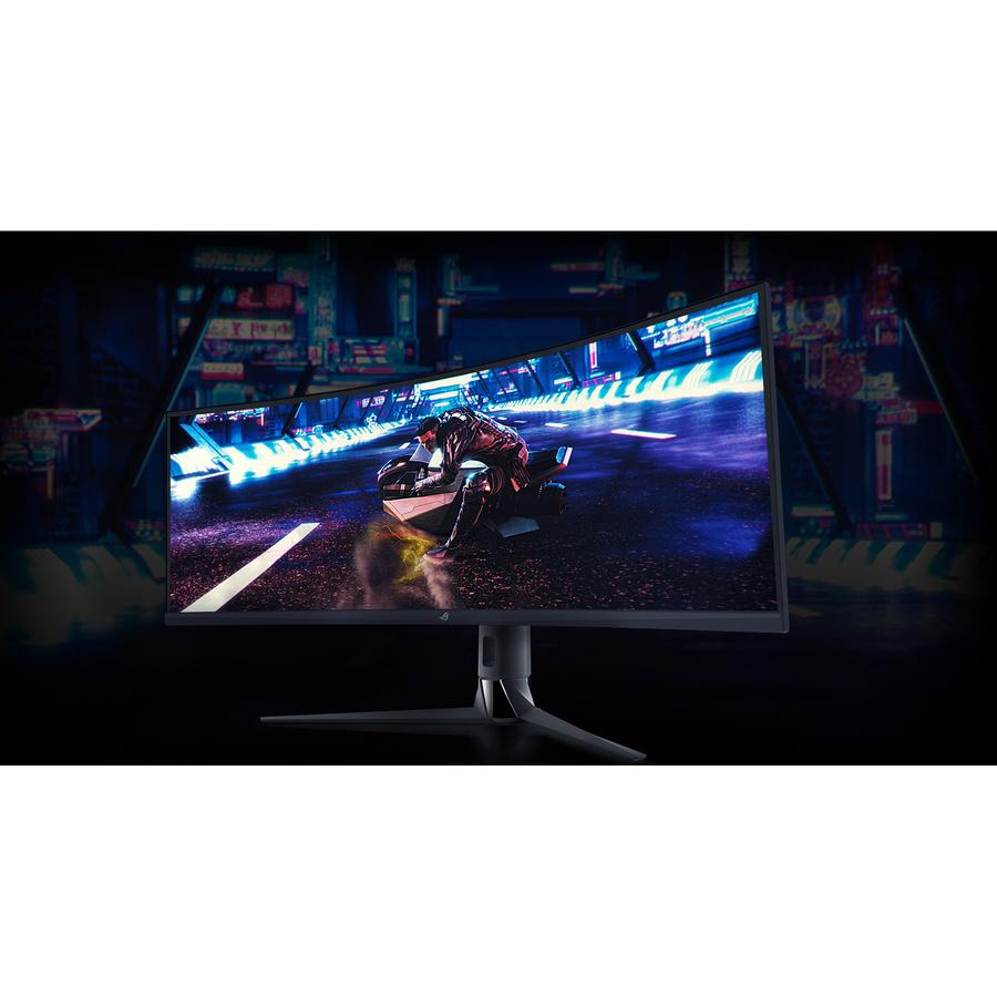 "Asus ROG Strix XG43VQ 43.4"" UHD Curved Screen WLED Gaming LCD Monitor - 32:10_subImage_8"