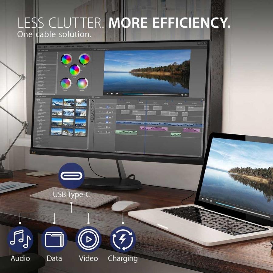 "Viewsonic VX2485-MHU 23.8"" Full HD LED LCD Monitor - 16:9_subImage_8"