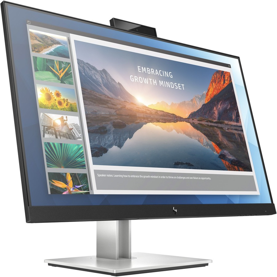 "HP E24d G4 23.8"" Full HD LED LCD Monitor - 16:9 - Black, Silver_subImage_7"