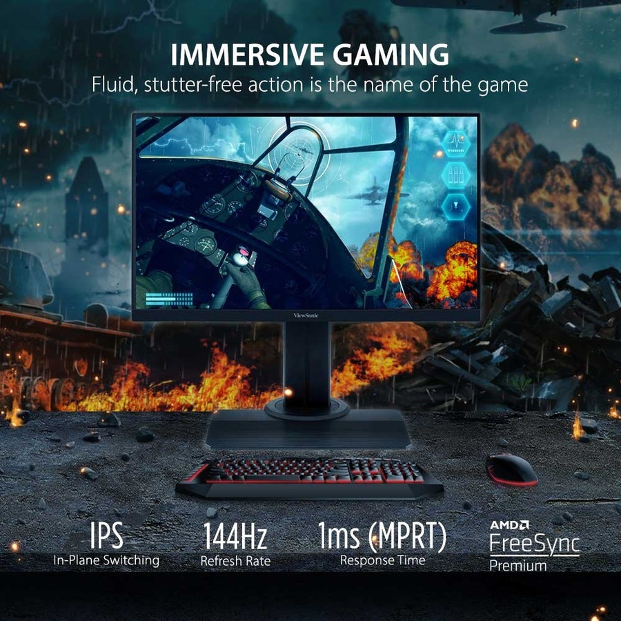 "Viewsonic XG2405 23.8"" Full HD LED Gaming LCD Monitor - 16:9_subImage_7"