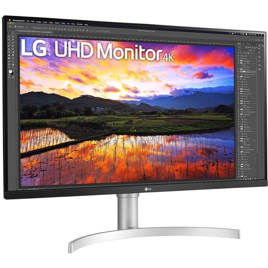 "LG 32BN67U-B 31.5"" 4K UHD LED Gaming LCD Monitor - 16:9 - Textured Black_subImage_6"