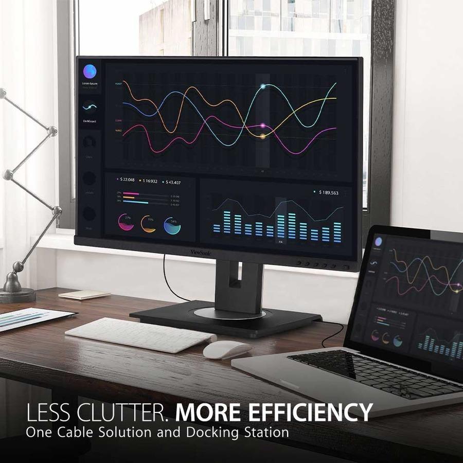 "Viewsonic VG2756-2K 27"" WQHD LED LCD Monitor - 16:9 - Black_subImage_8"