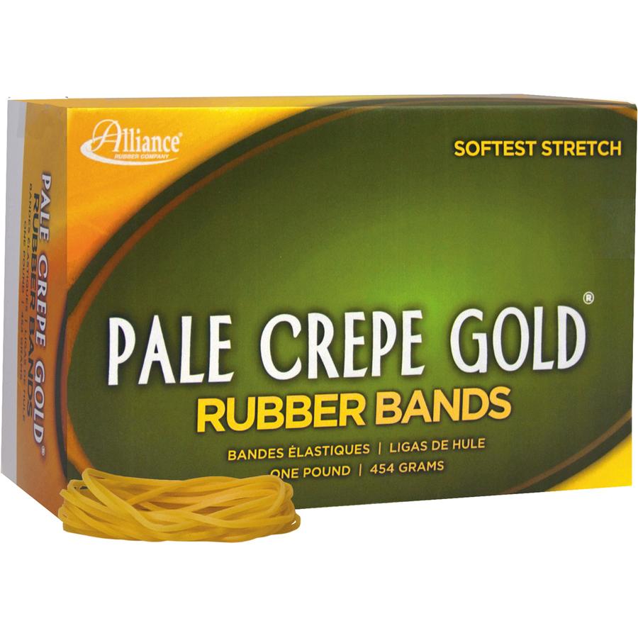 pale crepe gold rubber band all20185. Black Bedroom Furniture Sets. Home Design Ideas