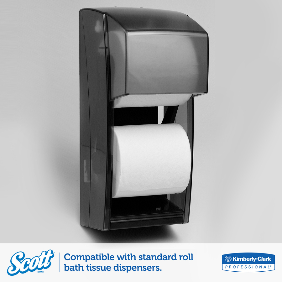 Scott Embossed Bath Tissue 2 Ply 4 x 4.10 550 Sheets/Roll  #0050A6