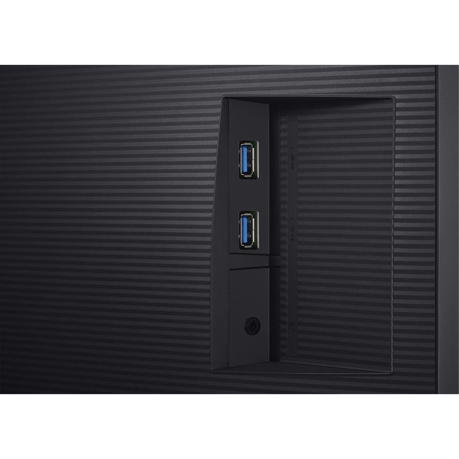 "Samsung U32H850UMN 31.5"" 4K UHD Quantum Dot LED LCD Monitor - 16:9 - Black, Silver_subImage_17"