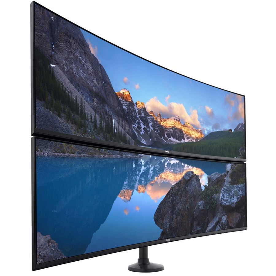 "Dell UltraSharp U4919DW 49"" Dual Quad HD (DQHD) Curved Screen WLED LCD Monitor - 32:9_subImage_18"