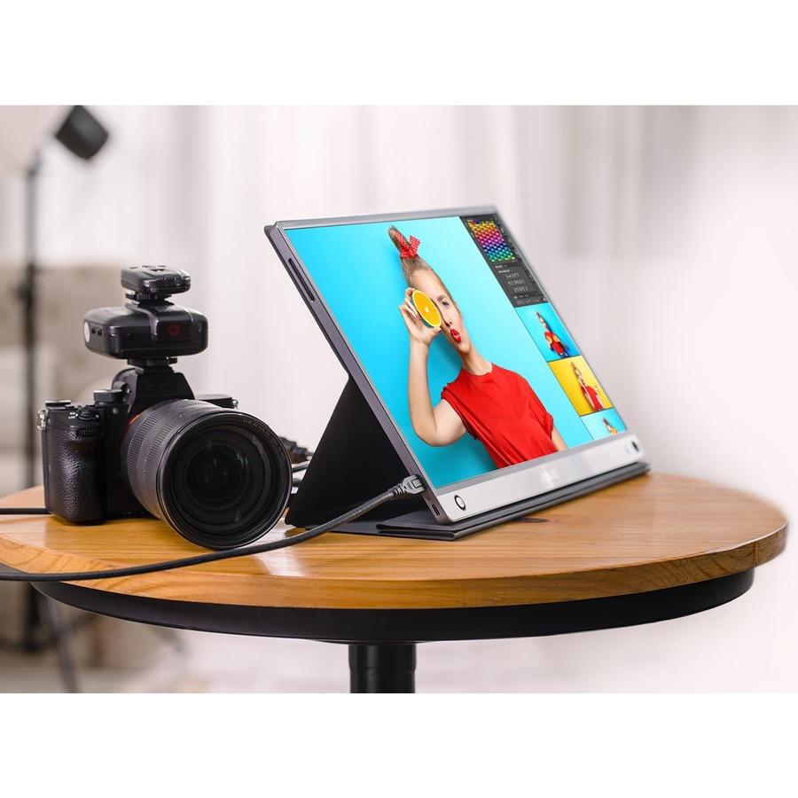 "Asus ZenScreen MB16ACE 15.6"" Full HD LCD Monitor - 16:9 - Dark Gray_subImage_18"