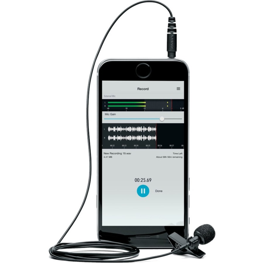 Shure MOTIV MVL-3.5MM Wired Condenser Microphone_subImage_11