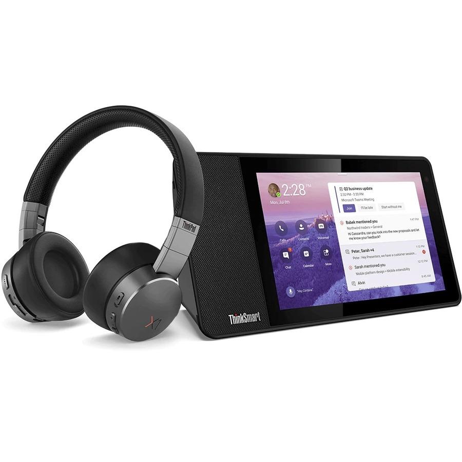 "Lenovo ThinkSmart View ZA840013US Tablet - 8"" HD - 2 GB RAM - 8 GB Storage - Android 8.1 Oreo - Business Black_subImage_16"