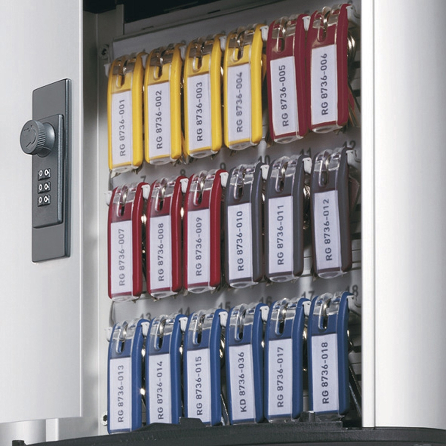 Durable Predrilled Brushed Key Cabinet